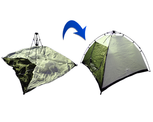 Carpa 3 personas Palace con sistema Easy Up